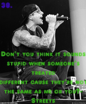 Related Pictures avenged sevenfold quotes
