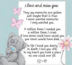 missing love one