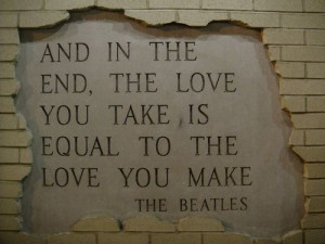 the beatles quotes about love