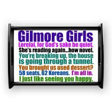 Gilmore Girls Collage Small Serving Tray for