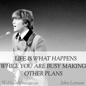... quote lots of times, but didn't realise it was said by John Lennon