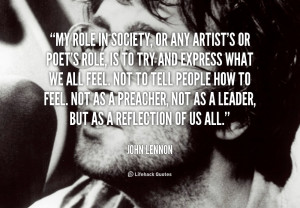 John Lennon Quotes About Friendship