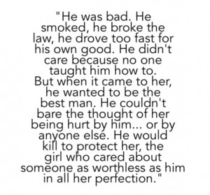 bad boy, book quotes, books, couple, cute, heart, kill, love, love ...