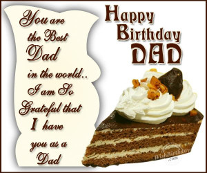 Birthday Wishes for Father - Birthday Cards, Greetings