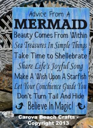 mermaid_-_beach_decor_-_beach_wall_decor_-_beach_sign_-_beach_theme ...