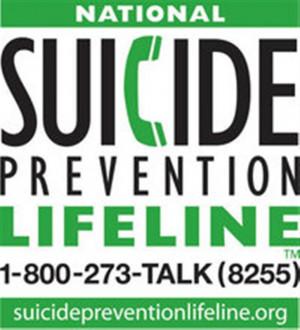 Flyer for Suicide Prevention Awareness Week