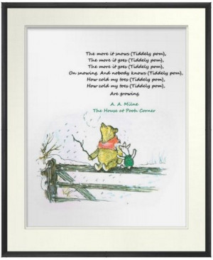 Snow Quotes, Winniethepooh Quotes, Milne Poems, Winnie The Pooh Quotes ...