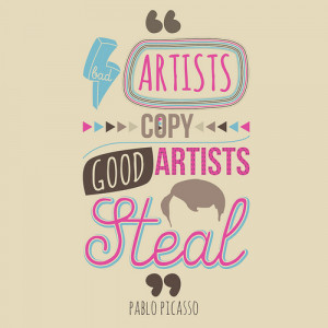 quote by Pablo Picasso about art by God-0f-Mischief