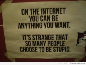 Stupid People On the Internet
