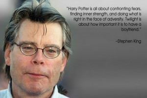 Harry Potter is all about confronting fears, finding inner strength ...