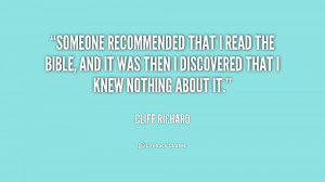 quote-Cliff-Richard-someone-recommended-that-i-read-the-bible-240511 ...