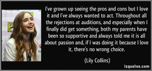 More Lily Collins Quotes