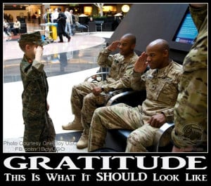 Gratitude, and Respect: Teach it early, teach it clearly