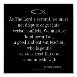 The Lord's Servant Inspirational Quotes Keys for Discipline Print ...
