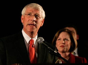 Image: Roger Wicker, Gayle Wicker