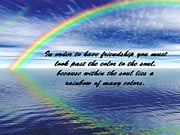 Quotes And Sayings Art - Color in the Soul by Catherine Herbert