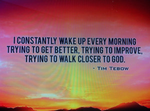 Great Tim Tebow quote :)