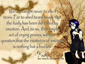 One of the best quotes from Rukia by ishi-kuchiki