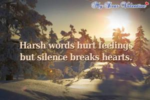 Hurt feelings quotes love