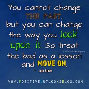 change the past