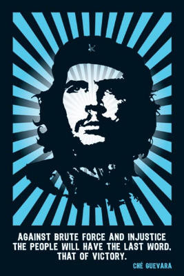 Title: Che Guevara (Victory Quote) Art Poster Print