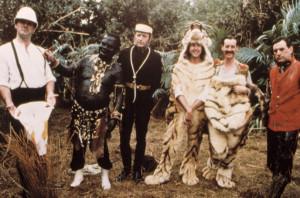 Monty Python reunion: Michael Palin, Graham Chapman, John Cleese, Eric ...