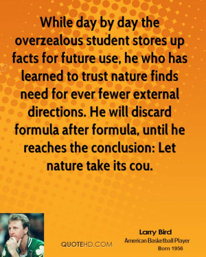 While day by day the overzealous student stores up facts for future ...