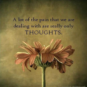An inspirational picture quote about dealing with pain through ...