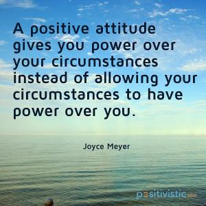quote on positive attitude: joyce meyer positive attitude ...