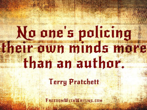 Terry Pratchett quote.
