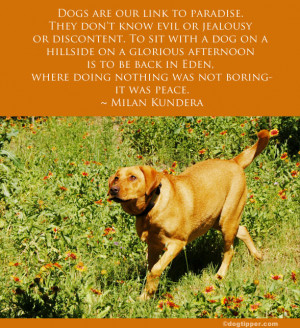 The Quotable Dog: Famous Quotes about Dogs