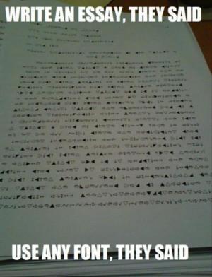 Essay Funny Quotes