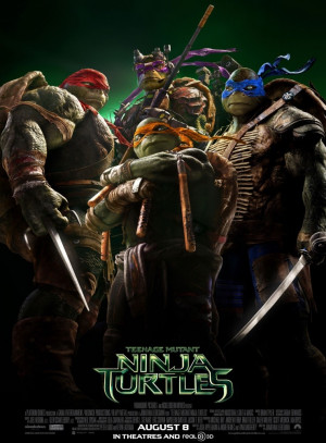 "The Turtles will be back on the big screen in June 2016, with ""TMNT ..."
