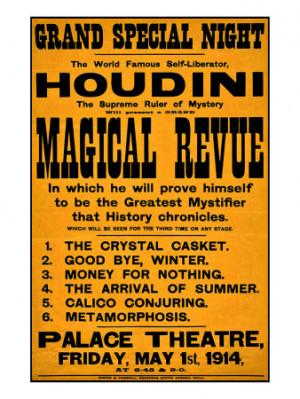 Quotes Harry Houdini Recent...