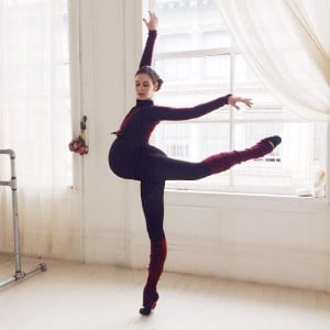 This 9 Month Pregnant Ballerina is Still Dancing