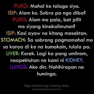 Love You Quotes Tagalog