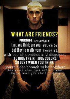 Eminem quote eminem quot, friend