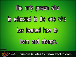 Famous Education Quotes For...