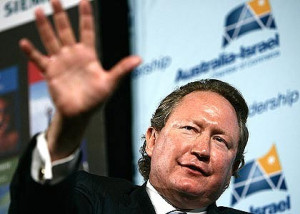 Andrew Forrest was running Fortescue Metals from his living room when ...