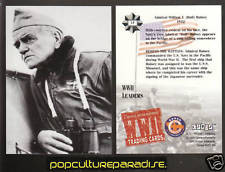 ADMIRAL WILLIAM F. BULL HALSEY USA WW2 PICTURE CARD