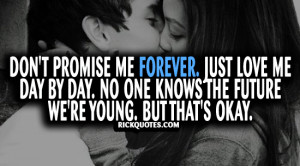 Just Love Me Quotes
