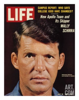 Wally Schirra Pictures