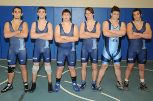 high school boys wrestling team