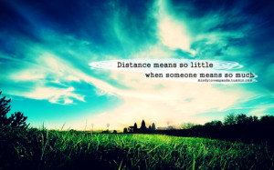 distance, ldr, photography, quotes