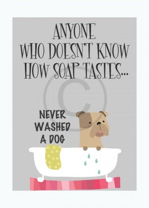 Dog Grooming, Funny Dog Quote Art Print, Typographic Print, Digital ...