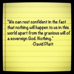 David Platt quote from 'Radical'