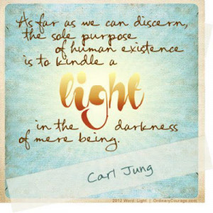 Thought of the day from Carl Jung
