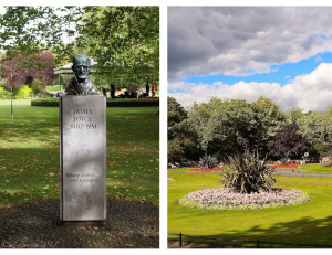In St. Stephen's Green is a bust honouring Joyce.