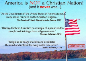 Never A Christian Nation