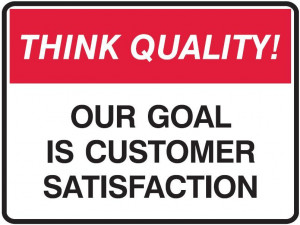 our goal is customer satisfaction our goal is customer satisfaction